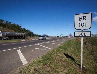 Confira os valores das novas praças de pedágio da BR 101 em Santa Catarina