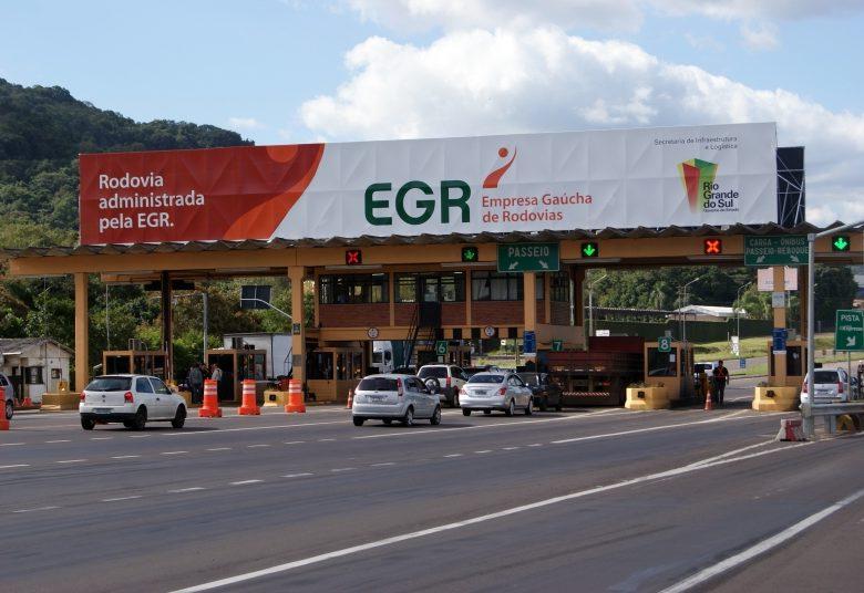 Empresa Gaúcha de Rodovias reduz em 10% a tarifa de pedágio para veículos de passeio